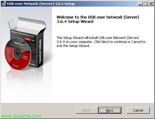 Conectando dispositivos USB en entornos VMware ESX