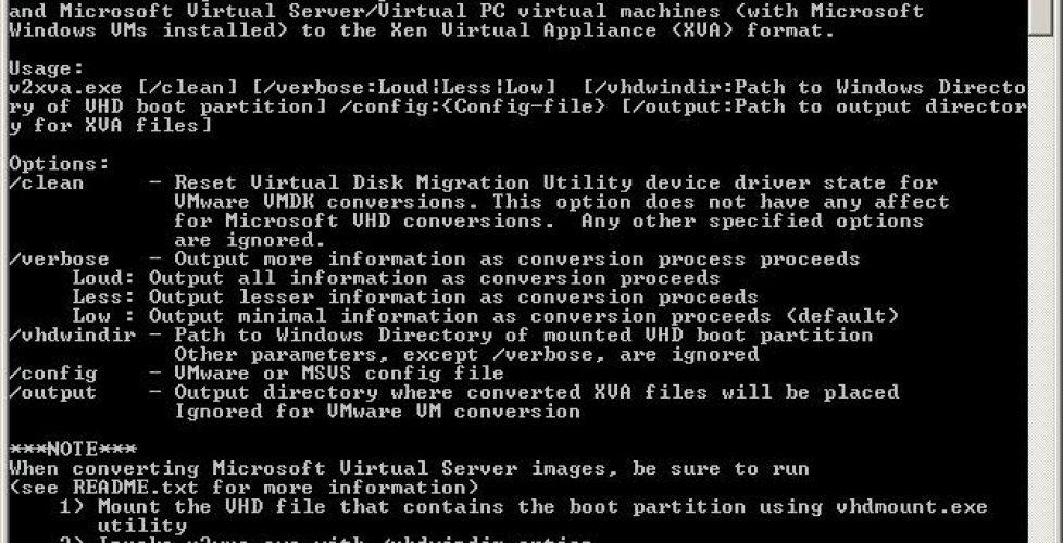 Convertir máquinas virtuales a XenServer