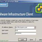 Configuración genéricas de VMware Virtual Center