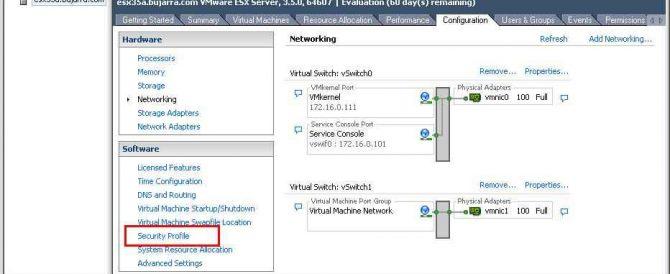 Conectando a una NAS de Openfiler con iSCSI a VMware ESX