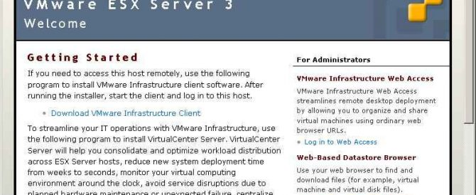 Instalar VMware VirtualCenter 2.5