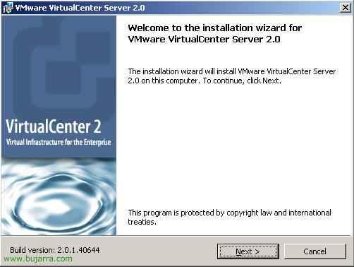 Instalación, configuración y administración de Virtual Infrastructure mediante VMware Virtual Center y VMware Infrastructure Client