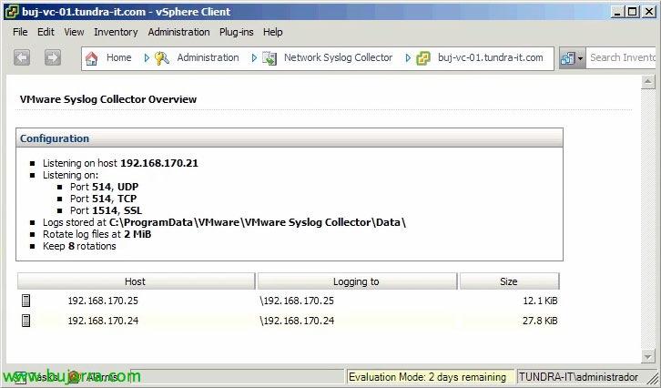 VMware Syslog Collector
