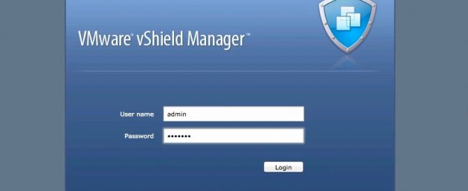 vmware vshield manager 12