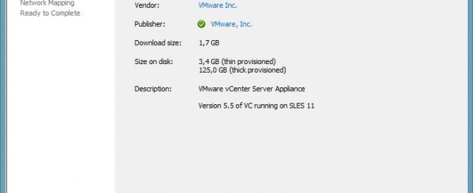 Actualizando vCenter Server Appliance a 5.5