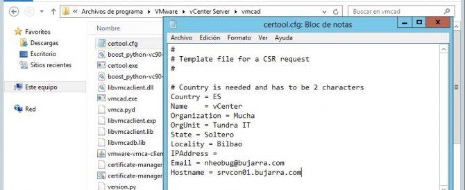 VMware vSphere 6 Certificate Manager