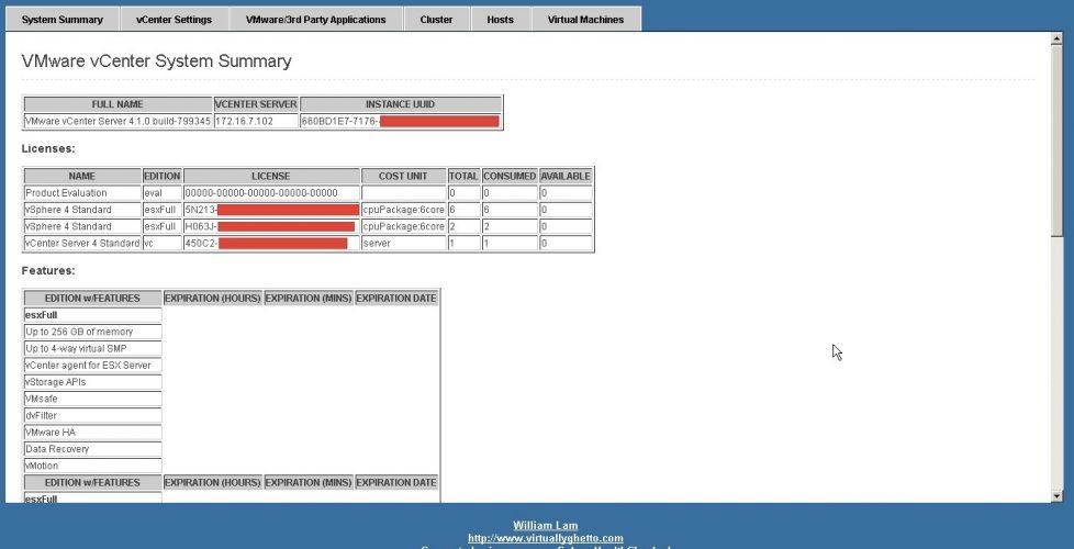 VMware vSphere Health Check Report | Blog Bujarra com