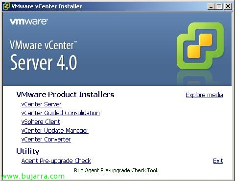 Usando VMware Agent Pre-upgrade Check