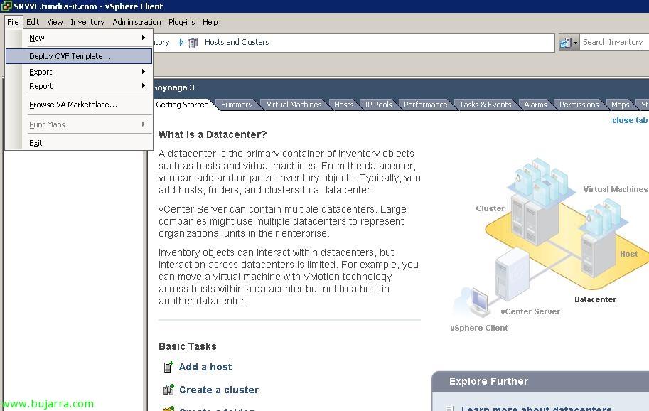 Usando VMware Data Recovery para realizar copias de seguridad de VMware vSphere