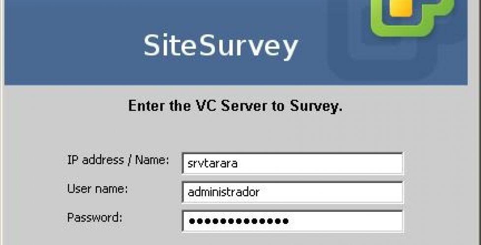 VMware SiteSurvey y CPU Identification Utility