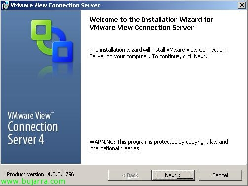 vmwareviewconnectionserversecurityserver401