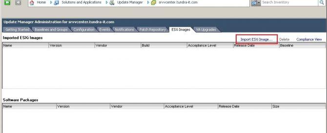 Actualización de un host ESXi 4.x a ESXi 5 con Update Manager