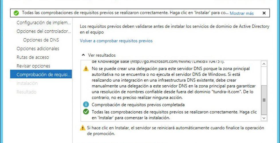 Actualizando el Directorio Activo a Windows Server 2012