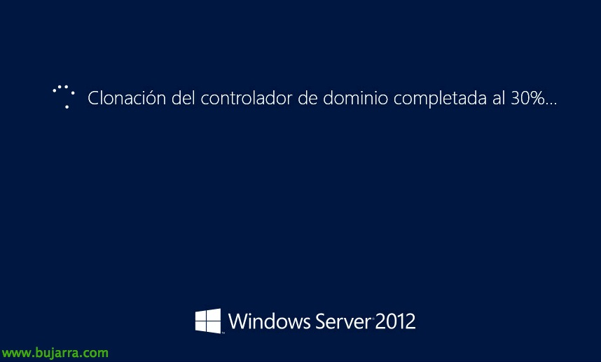 Clonando controladores de dominio Windows Server 2012