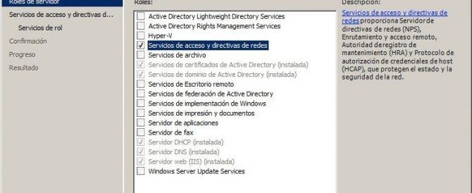 Configurando NAP con DHCP