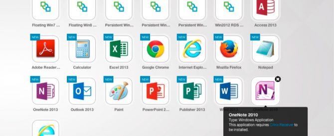 Publicando aplicaciones de Citrix XenApp desde VMware Workspace