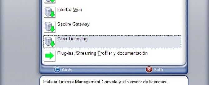 Migrando a Citrix XenApp 6