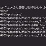 Instalación de un servidor Zimbra e integración con Directorio Activo
