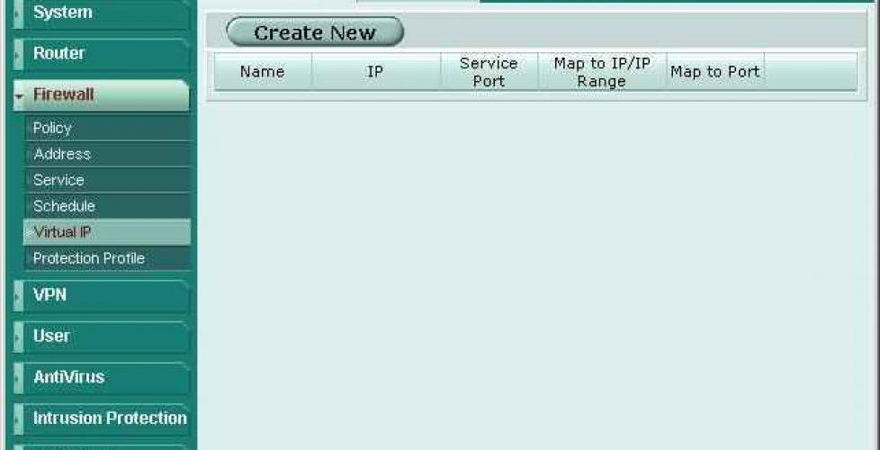 Mapear, redireccionar puertos o hacer NAT en FortiGate