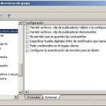 Directivas de grupo GPO's relacionadas con Terminal Server en Windows 2008