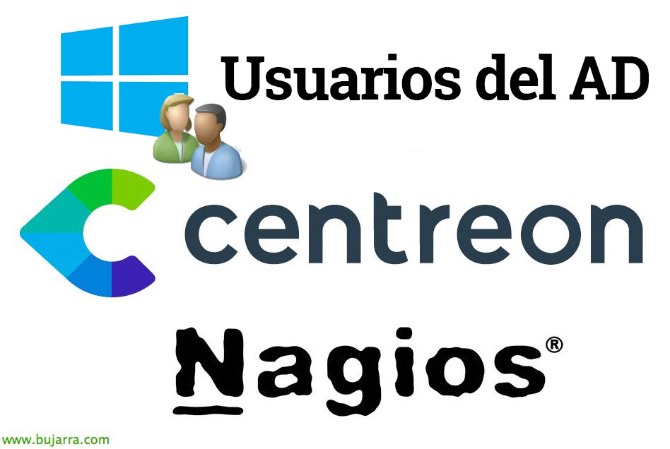 Nagios Centreon Benutzer Active Directory 00