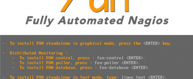 FAN – Fully Automated Nagios