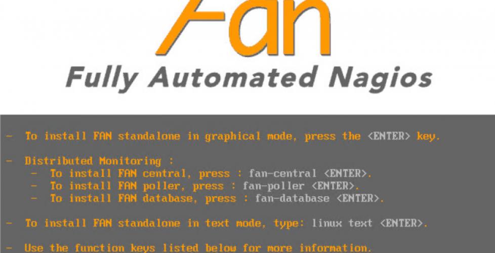 fan fully automated nagios
