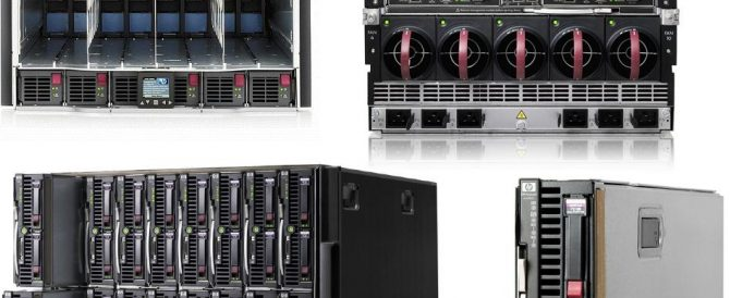 Configurando un HP BladeSystem