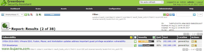 Installing and using OpenVAS | Blog Bujarra com