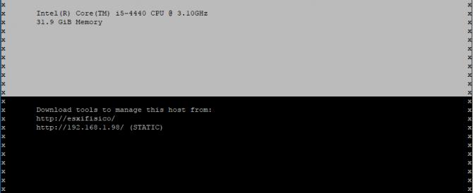 Instalación de VMware ESXi 6.5 + DCUI + Host Client