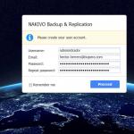 Installation von Backup Nakivo & Replikation 7.3