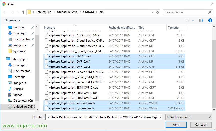 Configurando VMware vSphere Replication 6 5   Blog Bujarra com