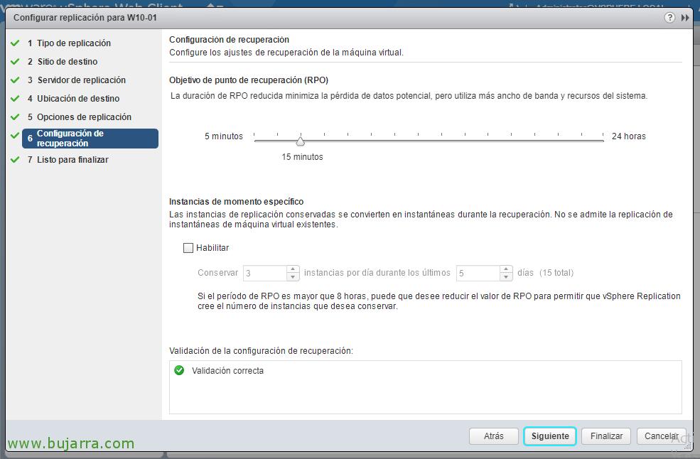 Configurando VMware vSphere Replication 6.5
