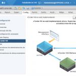 Configurando VMware vCenter Server High Availability