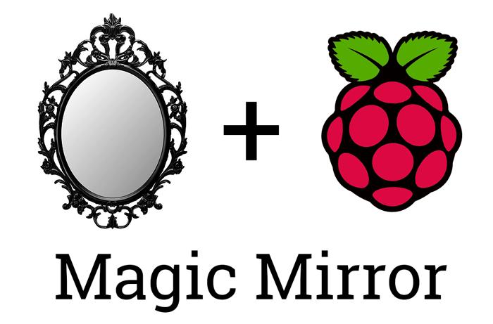 Magic Mirror Raspberry 00