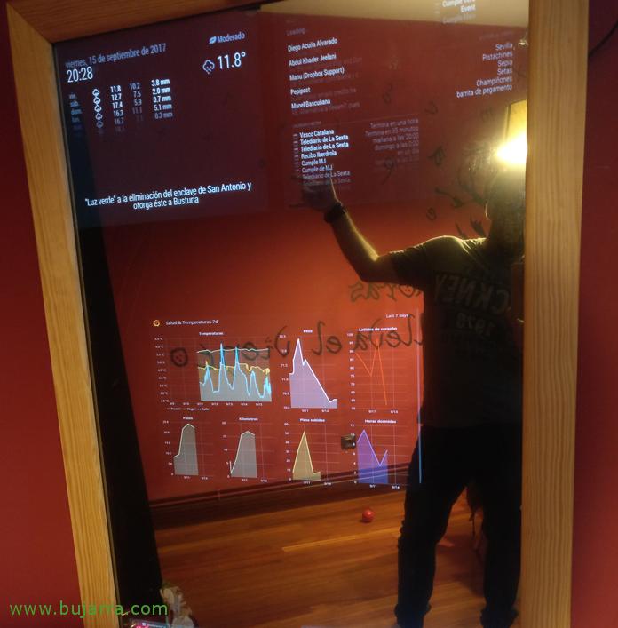 Raspberry pi 3 magic mirror download