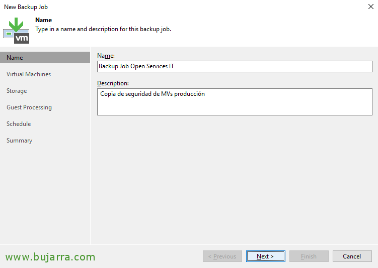 Creating a backup task with Veeam Backup & Replication 9 5 | Blog