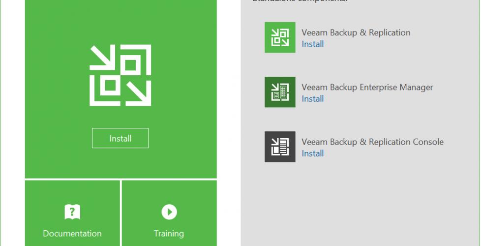 Instalación de Veeam Backup & Replication 9.5