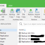 Veeam Backup & Replication 9.5 – Configuración inicial
