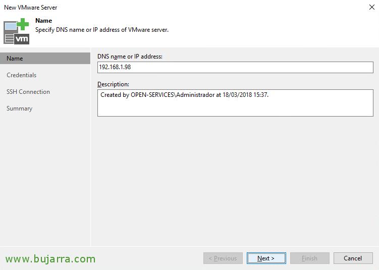 Veeam Backup 9 5 - Adding infrastructure servers | Blog