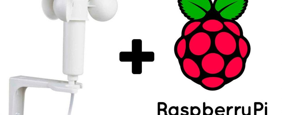 Usando un anemómetro con Raspberry Pi