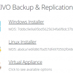 Nakivo Bereitstellung von virtuellen Appliance-Modus