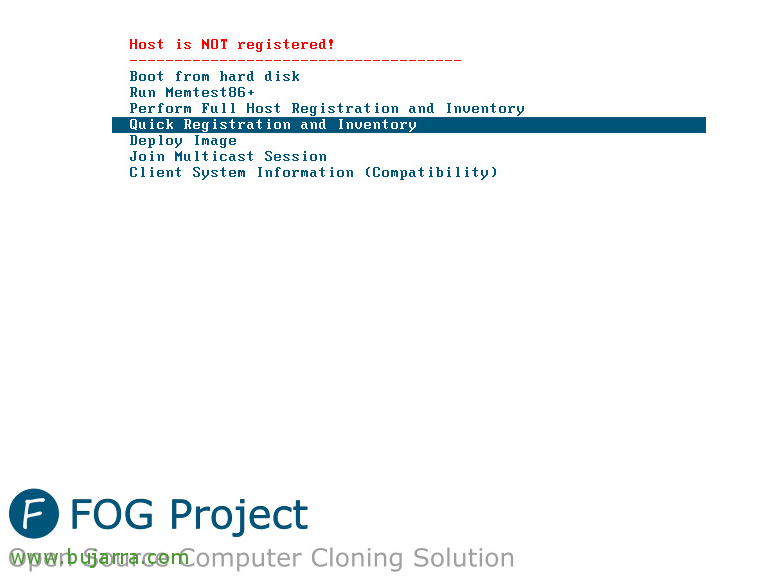 FOG - based Configuracion, generating an image and deployment | Blog