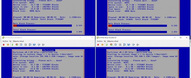 FOG – Desplegando múltiples equipos con Multicast