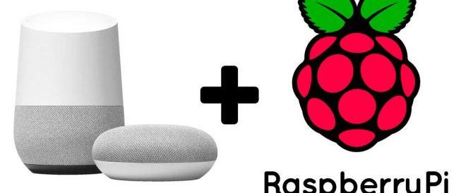 Montando nuestro altavoz inteligente Google HOME en una Raspberry Pi