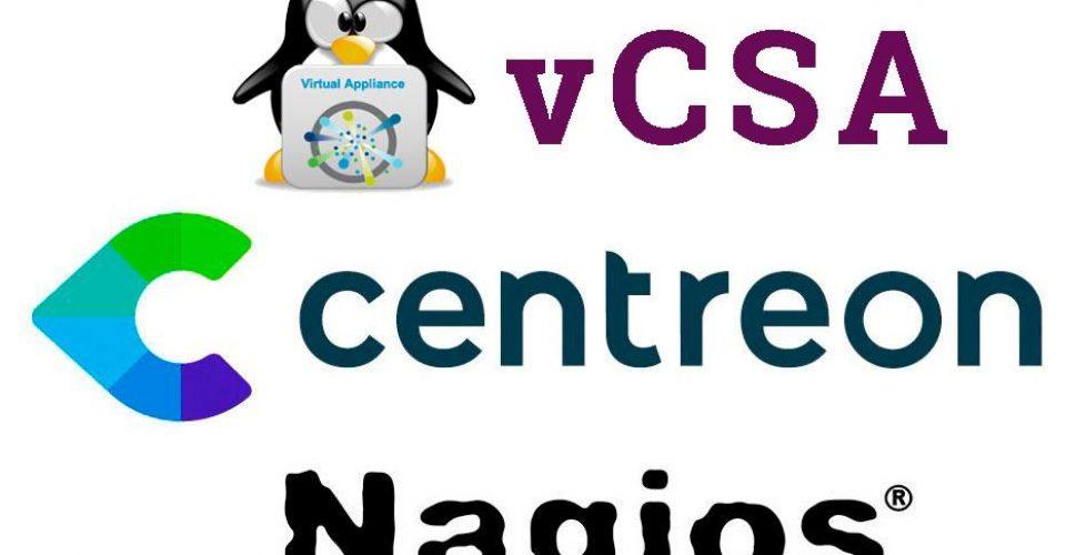 Monitorizando vCenter Server Appliance o vCSA con Centreon