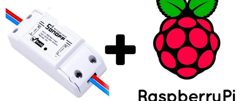 Poniendo Tasmota en un SonOff con una Raspberry Pi