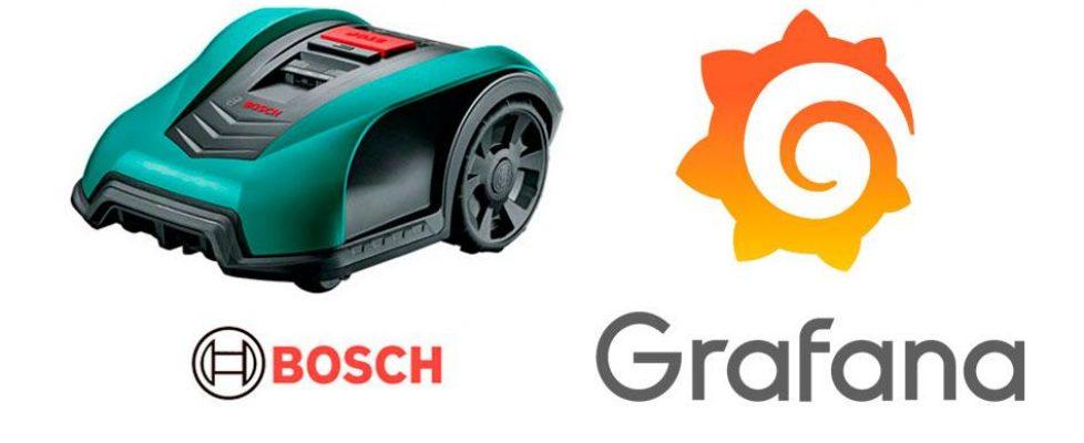 Monitoraggio Grafana con il nostro rasaerba Bosch Indego