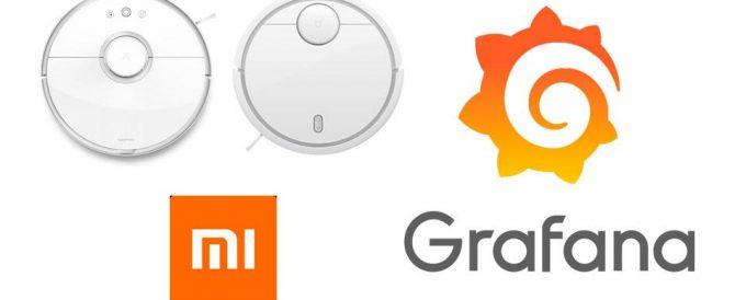Monitorizando el estado de nuestro robot aspirador Xiaomi Mi Vacuum en Grafana