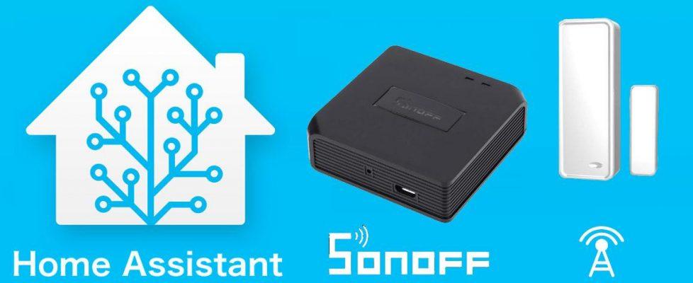 Integrando Sonoff Bridge RF con Hassio – Home Assistant y probando un sensor magnético de puertas/ventanas